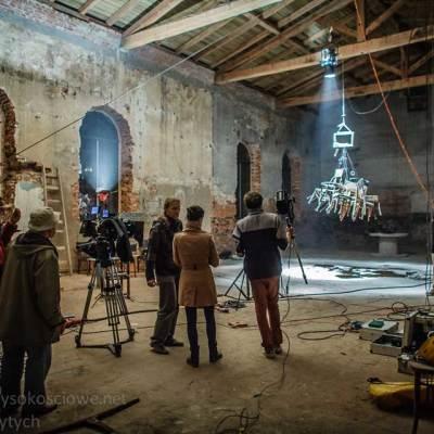 usługi alpinistyczne, obsługa planu filmowego prace dla łódzkiej filmówki